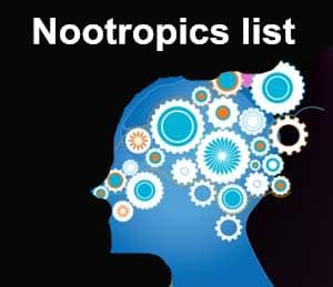 Nootropics List Herbal Nootropics Racetams Choline Sources Herb