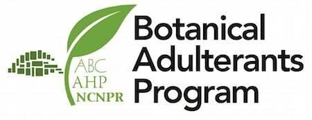 Botanical Adulterants Program BAP