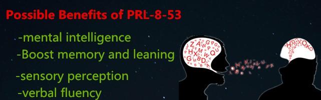 PRL-8-53 benefits