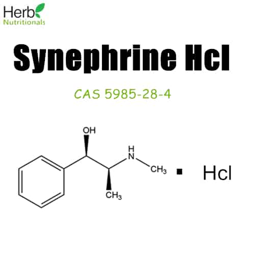 synephrine hcl structure